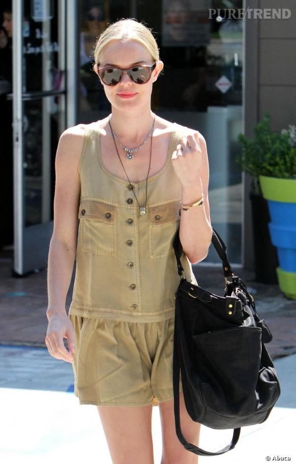 Kate Bosworth en balade à Los Angeles.