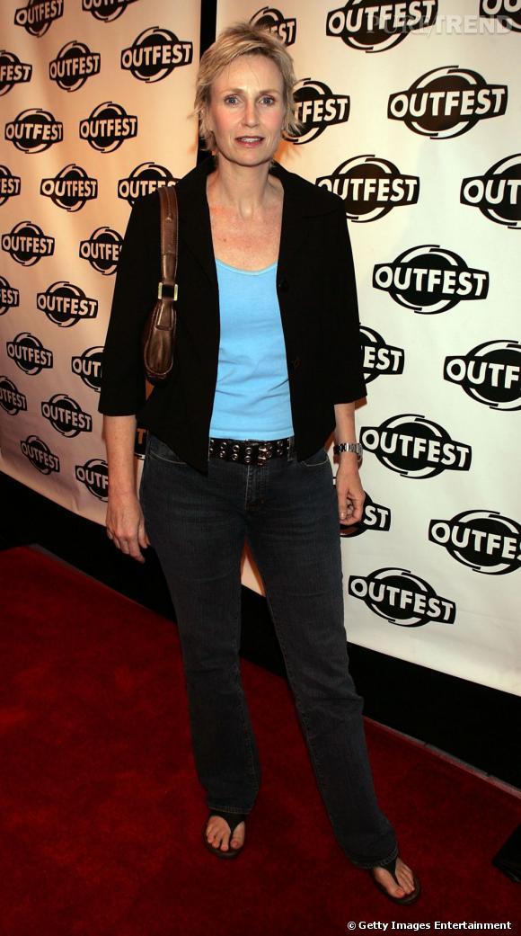 En 2005 :    Jane a déjà une longue liste de films dans sa filmographie, mais question look ce n'est toujours pas ça.