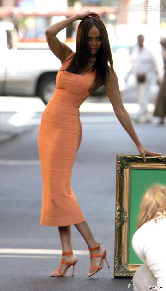 """Après avoir quitté les catwalks en 2005, Tyra est surtout connue pour son show """"America's Next Top Model""""."""
