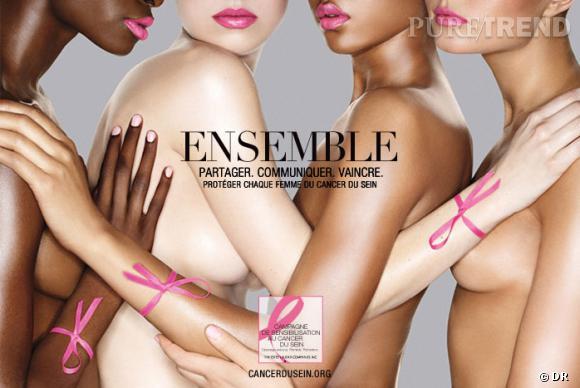 """Campagne 2011 de l'association """"Le Cancer du Sein, Parlons-en !""""."""