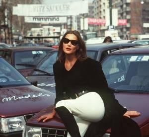 Retour sur le style Carla Bruni-Sarkozy, ex top model, chanteuse et maman