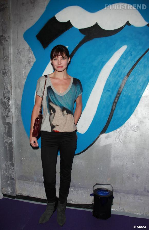 Delphine Chanéac à la soirée Escada Party.