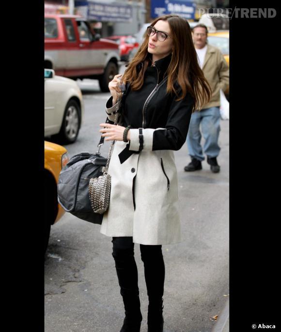 Anne Hathaway, une jeune demoiselle qui ne manque pas de style.