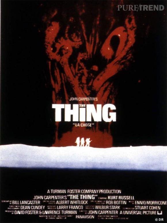 """The Thing de John Carpenter (1982)    Remake du film """"La Chose d'un autre monde"""" tiré lui même de la nouvelle """"Who Goes There?"""" de  John W. Campbell, The Thing de Carpenter est LE classique de la rencontre entre la SF et l'horreur. On le redit encore : culte."""