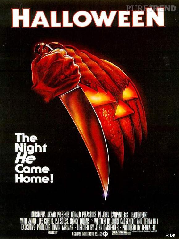 """Halloween de John Carpenter (1979) Comment ne pas commencer notre sélection de films qui font peur la veille d'Halloween avec l""""Halloween"""" de Carpenter qui révèla Jamie Lee Curtis ? Voilà c'est fait."""