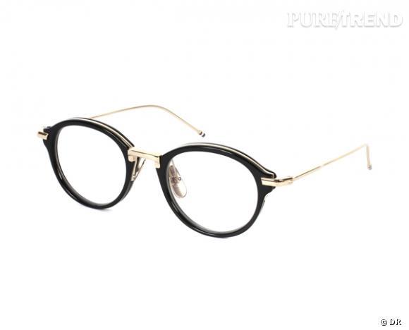 Les lunettes de vue tendance à shopper ! Lunettes Thom Browne x Dita, 600 € 1c18c9097f0e