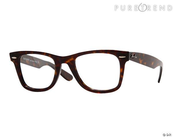 les lunettes de vue tendance shopper lunette optique 39 wayfarer 39 ray ban 140. Black Bedroom Furniture Sets. Home Design Ideas