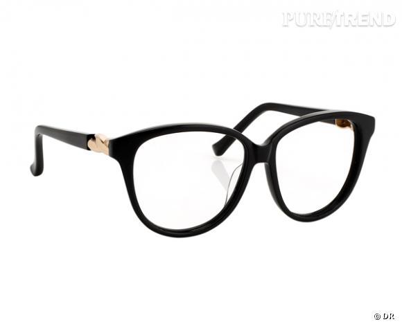 les lunettes de vue tendance shopper lunettes agent provocateur by linda farrow prix sur. Black Bedroom Furniture Sets. Home Design Ideas