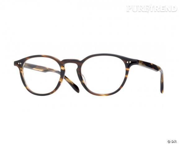 Les lunettes de vue tendance à shopper ! Lunettes optique Oliver Peoples,  230 €. 0ff0c66dd6d5
