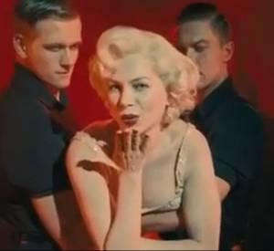 "Michelle Williams est Marilyn Monroe dans ""My Week with Marilyn Monroe""."