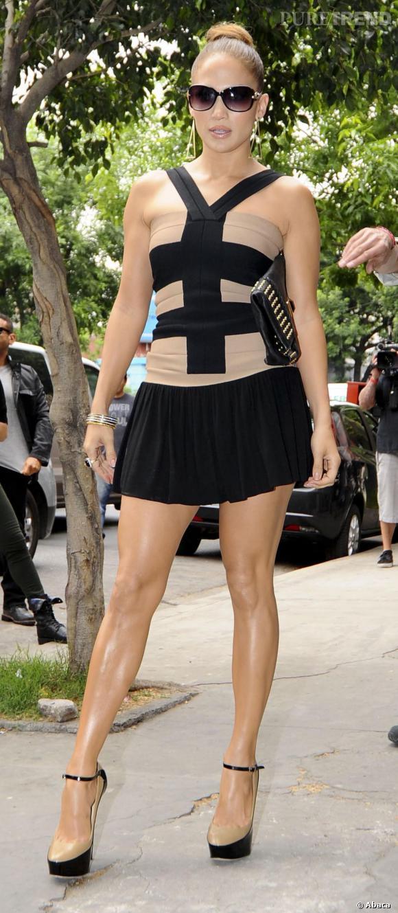 Jennifer Lopez en escale à Buenos Aires en Argentine.