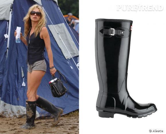 promotion nouveau style bas prix Par temps de pluie, les bottes de pluie Hunter sont les it ...