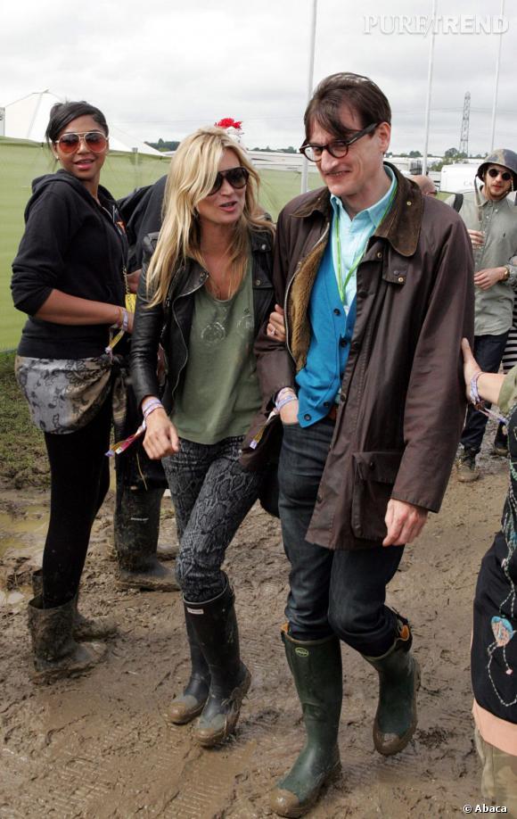 Hype dans la gadoue : Kate Moss et ses bottes Hunter !