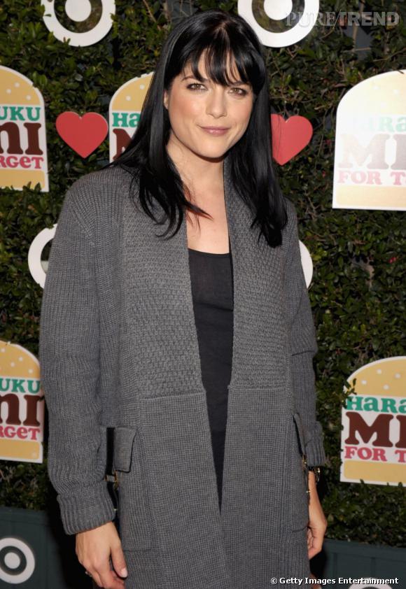 Selma Blair lors de la soirée de lancement de la collection Harajuku Mini For Target à Los Angeles.