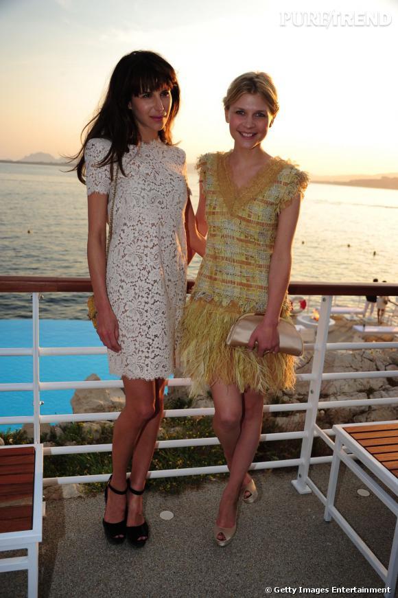 Caroline Sieber est aussi copine avec Clémence Poesy.