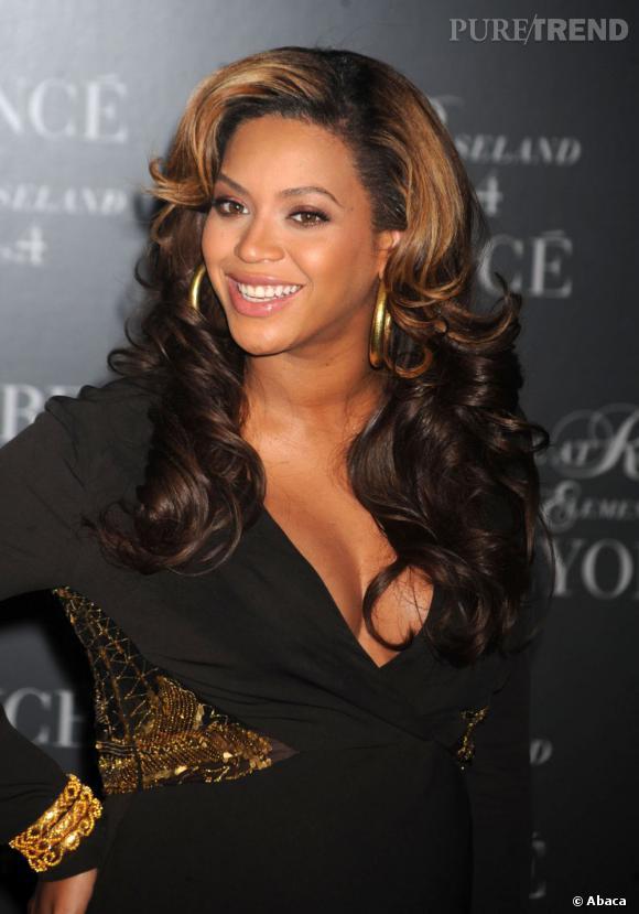 Beyoncé à la projection de son DVD Beyoncé Live at Roseland, à New York.
