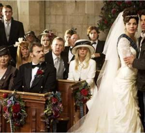 """Moins mythique mais qui fait son effet, la robe de Michelle Monaghan dans le film """"Le témoin amoureux""""."""