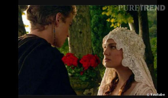 """Natalie Portman : sa mythique scène de mariage dans """"Star Wars""""."""