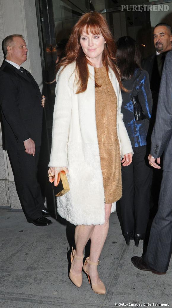 Julianne Moore, une actrice tendance qui sait se mettre en valeur.