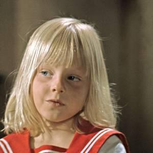 En 1969 : Jodie Foster a 7 ans et maîtrise impeccablement le style petit mousse.