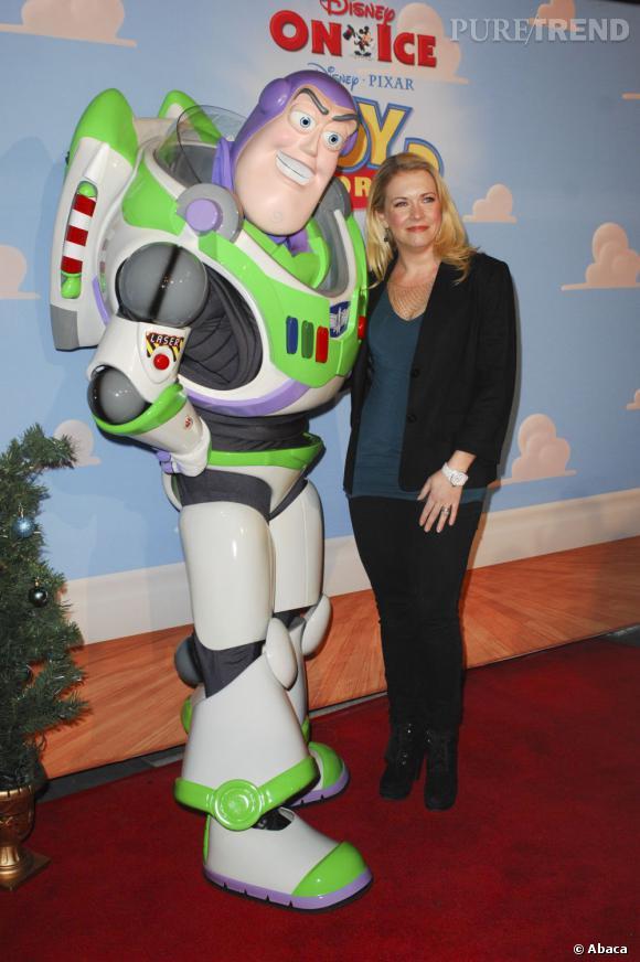 Melissa Joan Hart et Buzz l'Eclair.