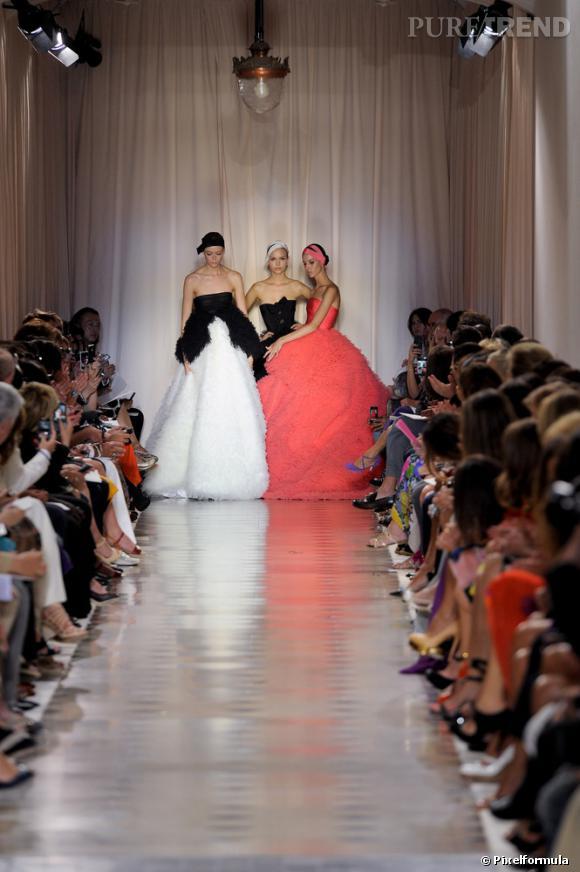 Défilé Haute Couture Giambattista Valli, Automne-Hiver 2011/2012.