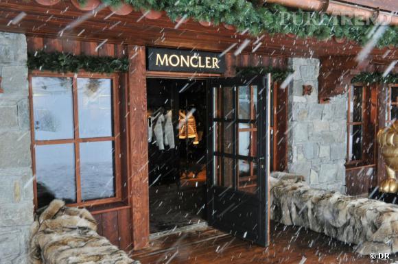 Moncler s'installe à Courchevel.