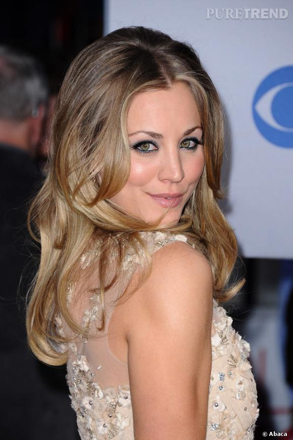 Kaley Cuoco aux People's Choice Awards 2012.