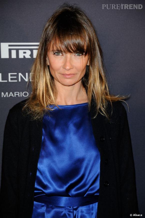 Côté coiffure, Axelle Laffont adopte le tie and dye, très tendance.
