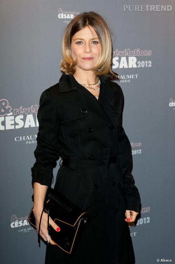 Marina Foïs à la soirée Chaumet pour les révélations des César 2012.