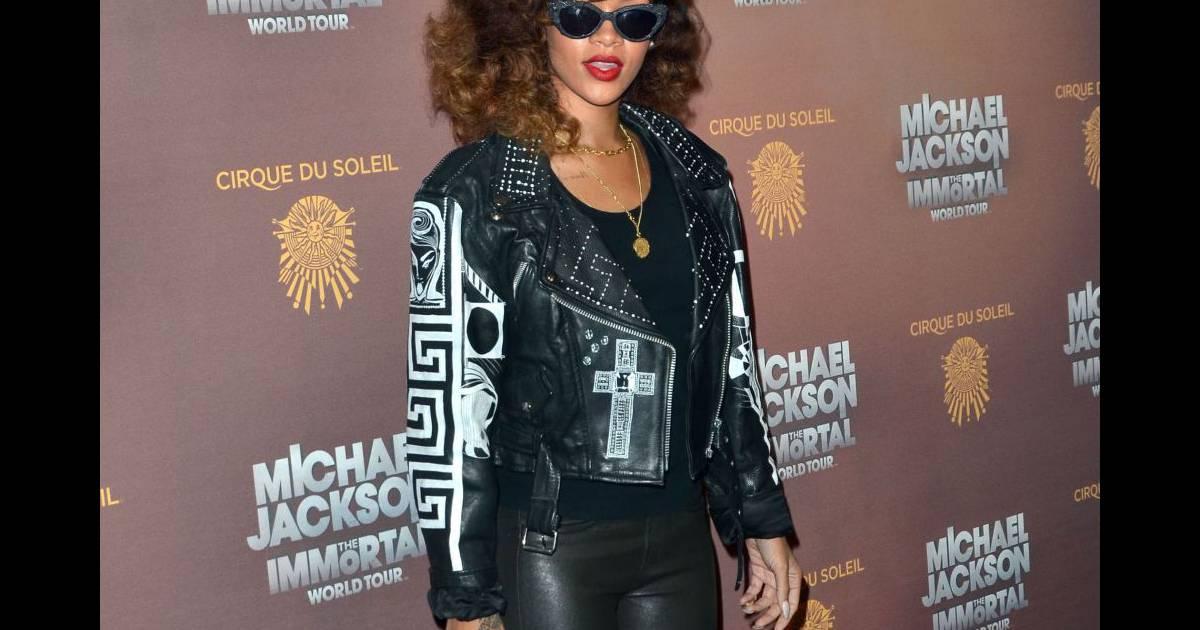 nouveau concept mode de luxe 50% de réduction Rihanna revisite le style Grease - Puretrend