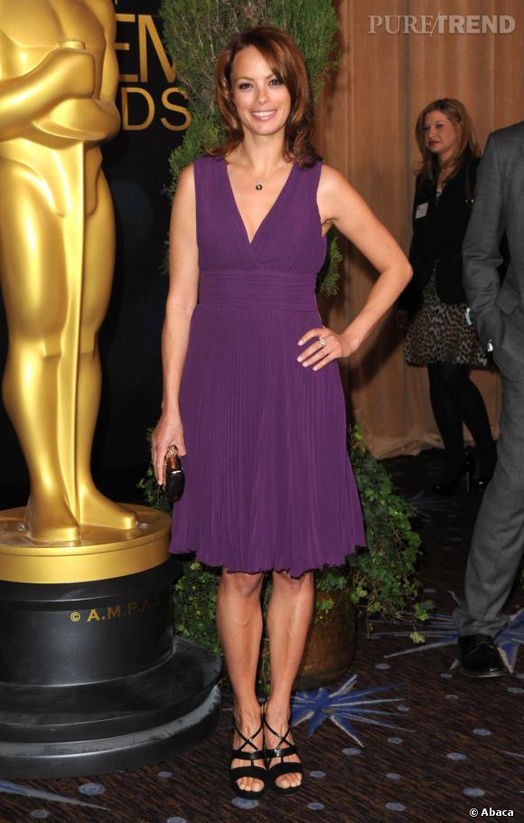 Bérénice Bejo lors du déjeuner des nominés aux Oscars 2012 à Beverly Hills.