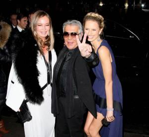Karolina Kurkova, Lindsay Lohan, Heidi Klum : L'AmfAR de New York 2012