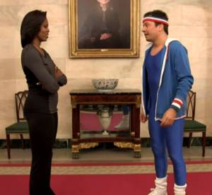Le dossier du jour : Michelle Obama vs Jimmy Fallon