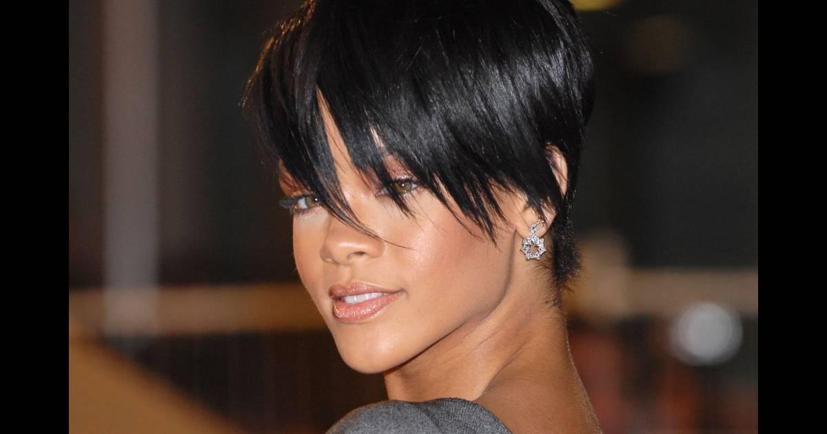 En 2008 rihanna coupe court puretrend for Coupe de cheveux de rihanna court