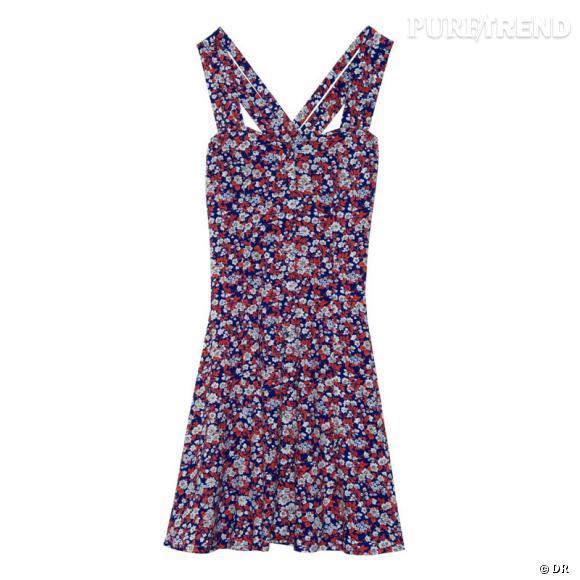 Robe American Retro imprimé fleurs, 50 euros