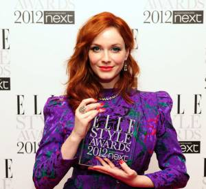 Christina Hendricks, feu d'artifice de couleurs
