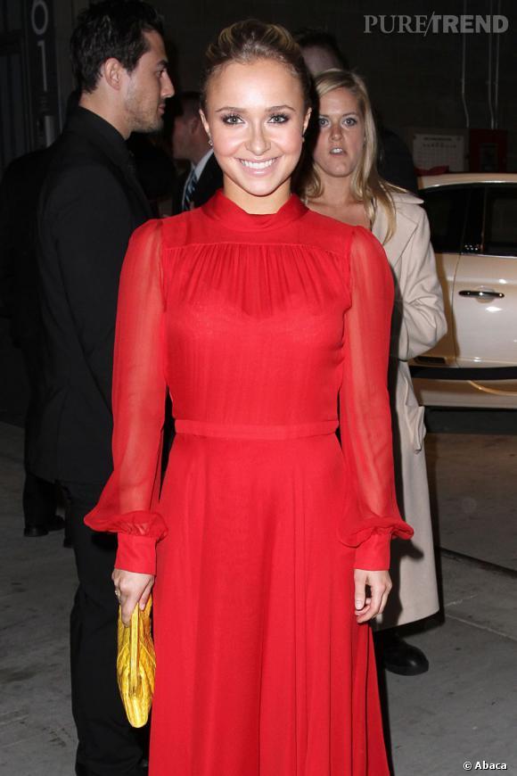 Hayden Panettiere à la soire Vanity Fair et Juicy Couture.
