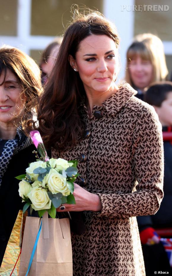 Kate Middleton en visite officielle à Oxford.