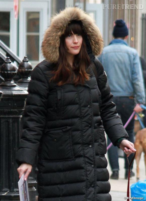Même si le modèle chapka est très joli, on regrette le manque d'originalité de Liv Tyler.