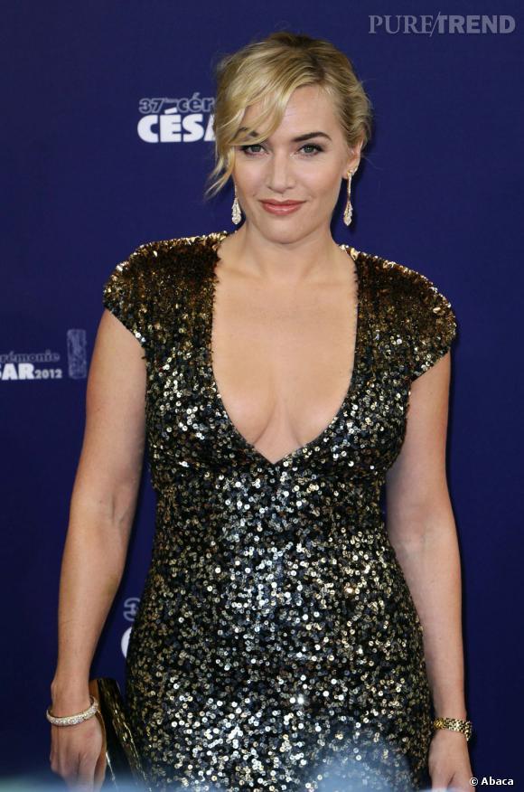 Kate Winslet aux César 2012 à Paris.