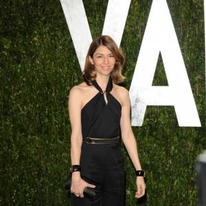 Sofia Coppola en Yves Saint Laurent Printemps-Été 2011.