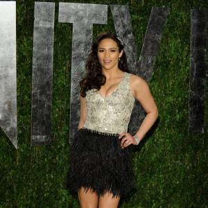 Paula Patton en Naeem Khan.