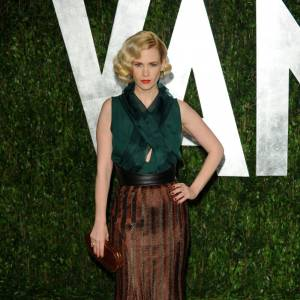 January Jones en Wes Gordon.