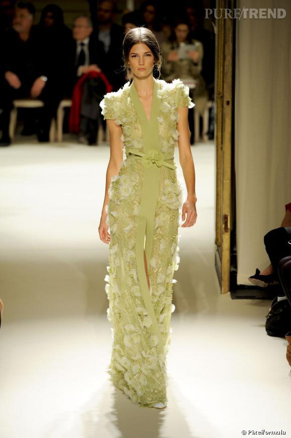 Défilé Georges Hobeika Haute Couture Printemps-Eté 2012.