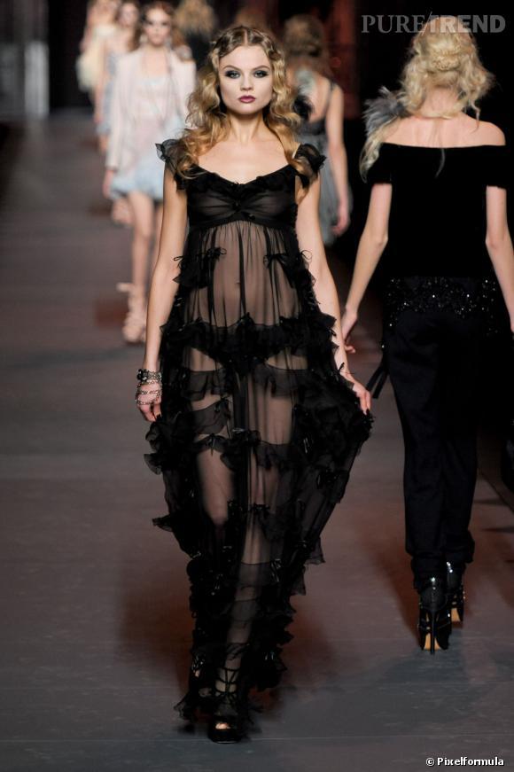 Défilé Christian Dior Automne-Hiver 2011-2012.