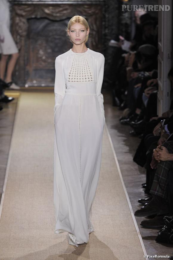 Défilé Valentino Haute Couture Printemps-Eté 2012.
