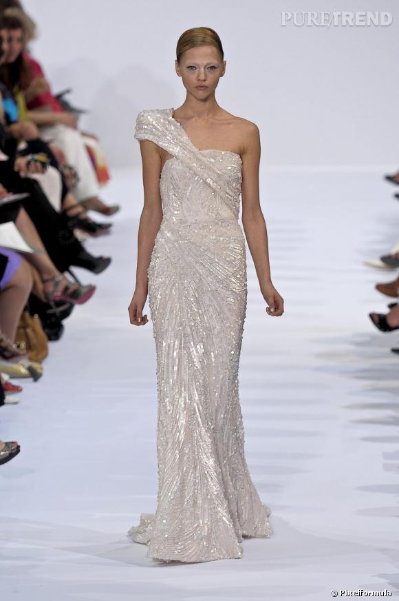 Défilé Elie Saab Haute Couture Automne-Hiver 2009-2010.