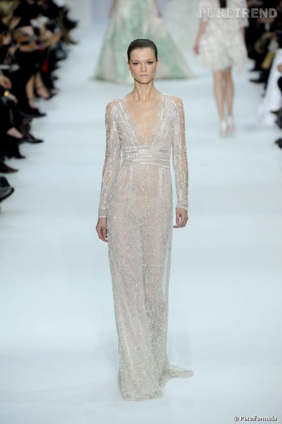 Défilé Elie Saab Haute Couture Printemps-Eté  2012.