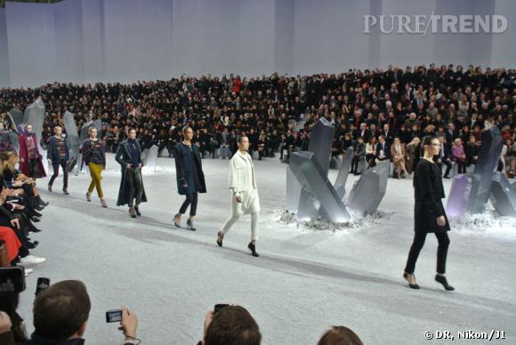 Défilé Chanel Automne-Hiver 2012/2013